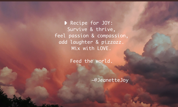 RECIPE FOR JOY